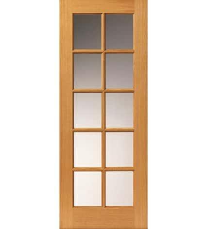 Gisburn Pre-Finished Glazed Internal Door - 1981mm-x-686mm-x-35mm