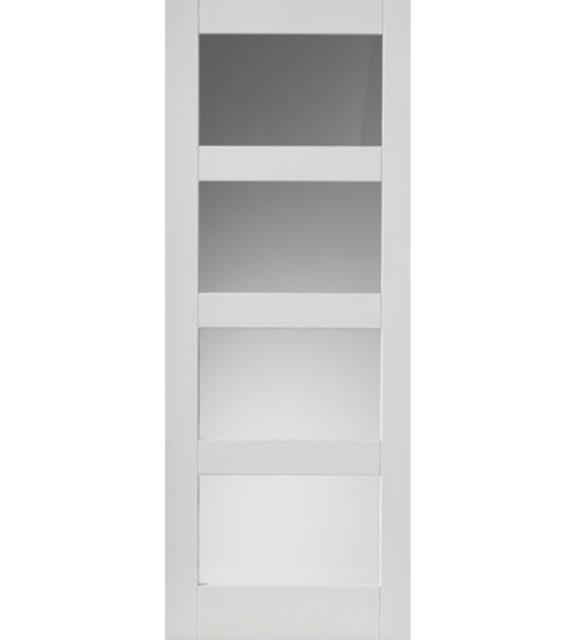 jb kind cayman white glazed internal door