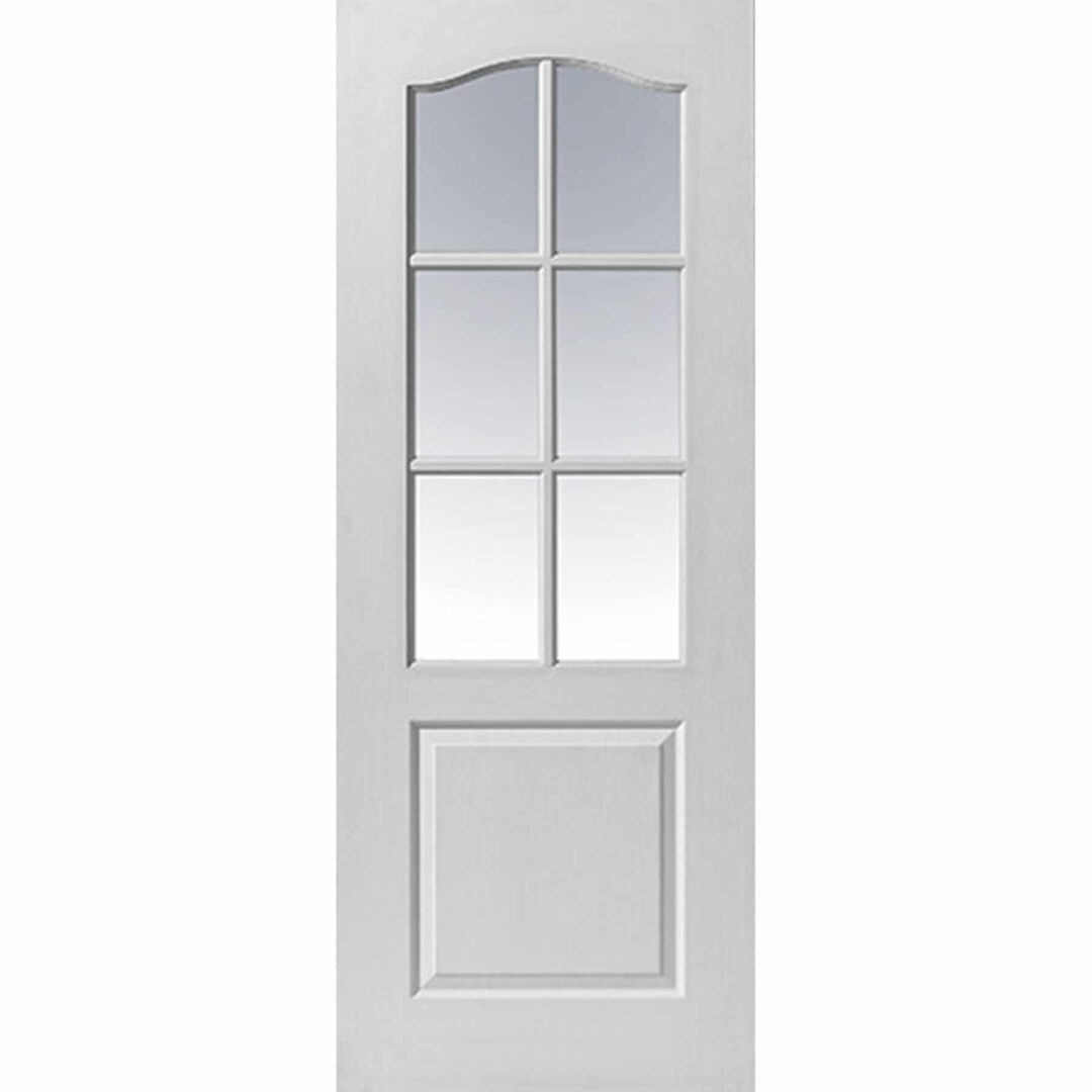 jb kind classique 6 light glazed internal door