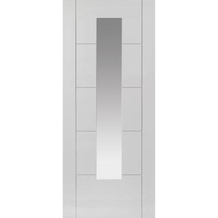 JB Kind Emral White Glazed Door - 1981mm-x-838mm-x-35mm