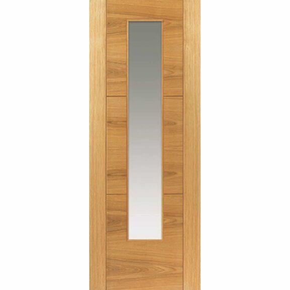 jb kind mistral oak glazed door