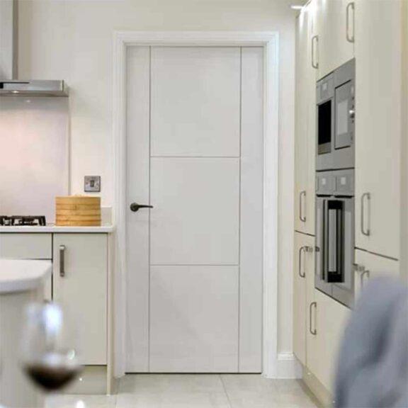 jb kind mistral white interior door