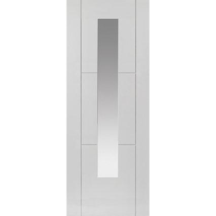 JB Kind Mistral White Glazed Internal Door - 1981mm-x-686mm-x-35mm