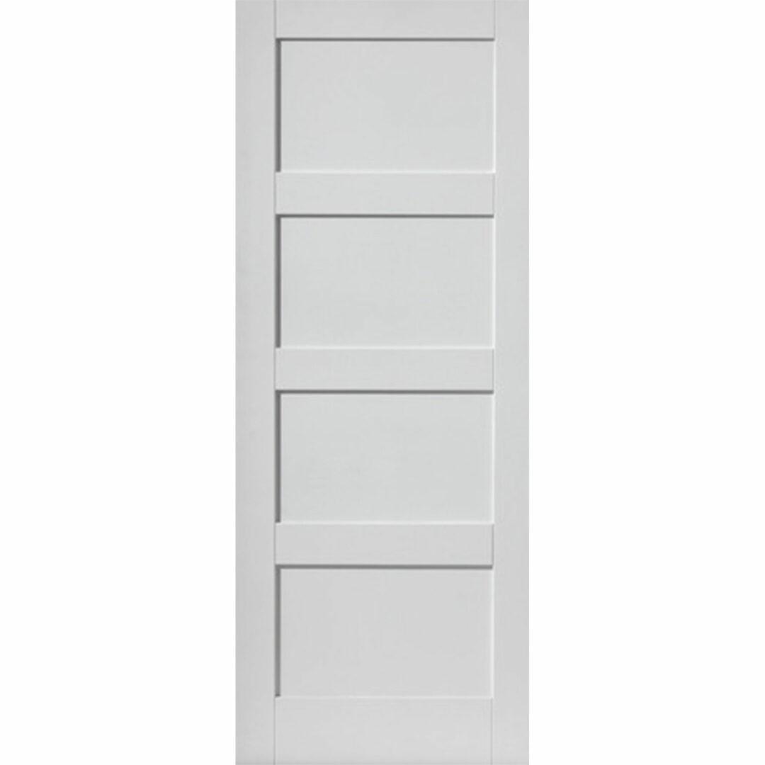 jb kind montserrat white interior door