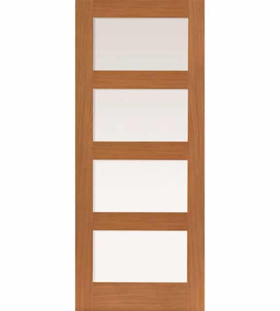 jb kind nevis oak glazed internal door