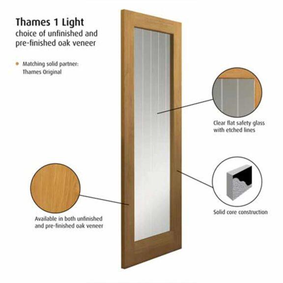 jb kind thames 1 light internal door
