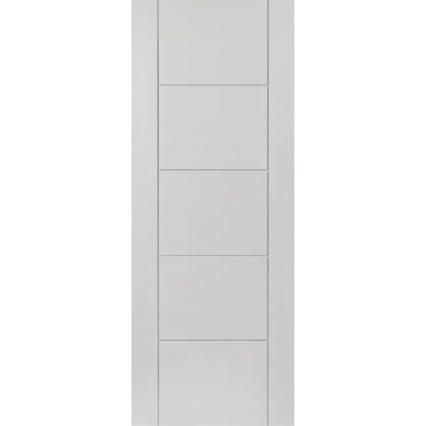JB Kind Tigris White Internal Door - 1981mm-x-838mm-x-35mm