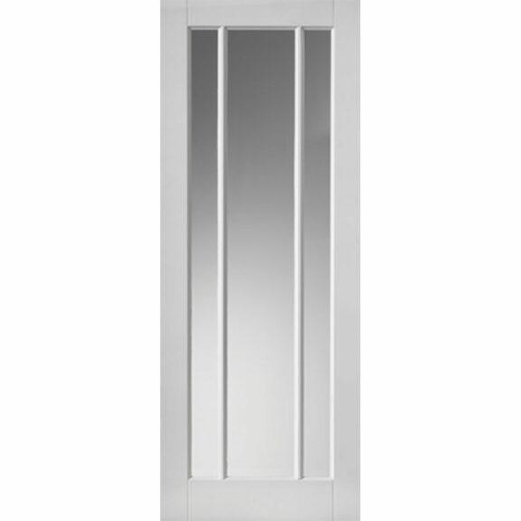 jb kind trinidad white glazed interior door