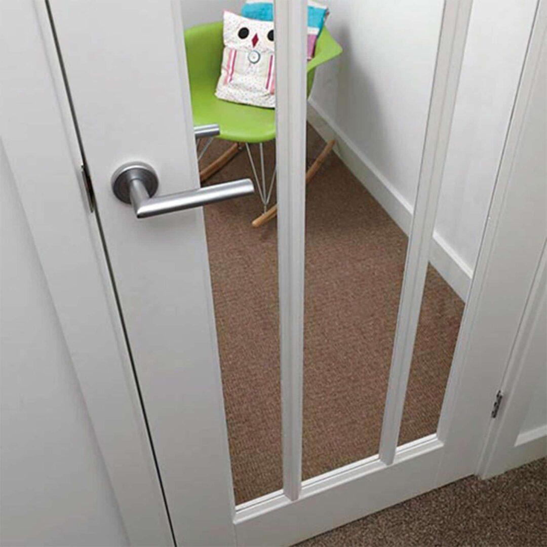 jb kind trinidad white glazed internal door
