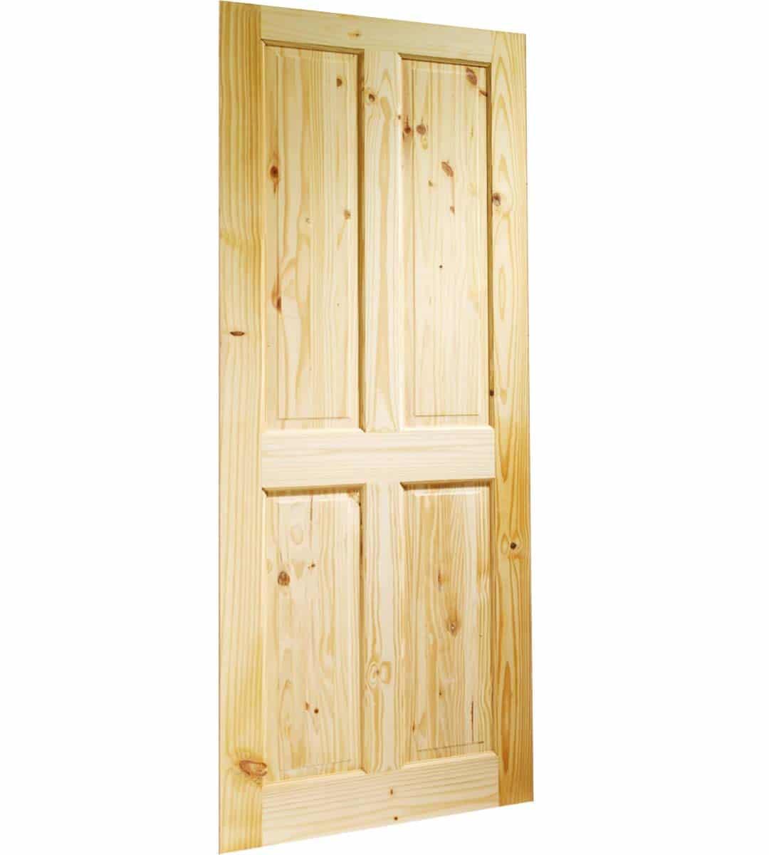 knotty pine large door