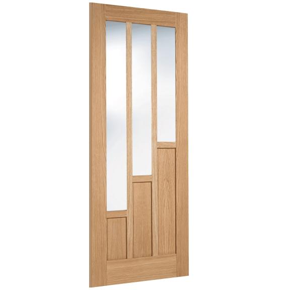 LPD Coventry Glazed 3L Oak Interior Door