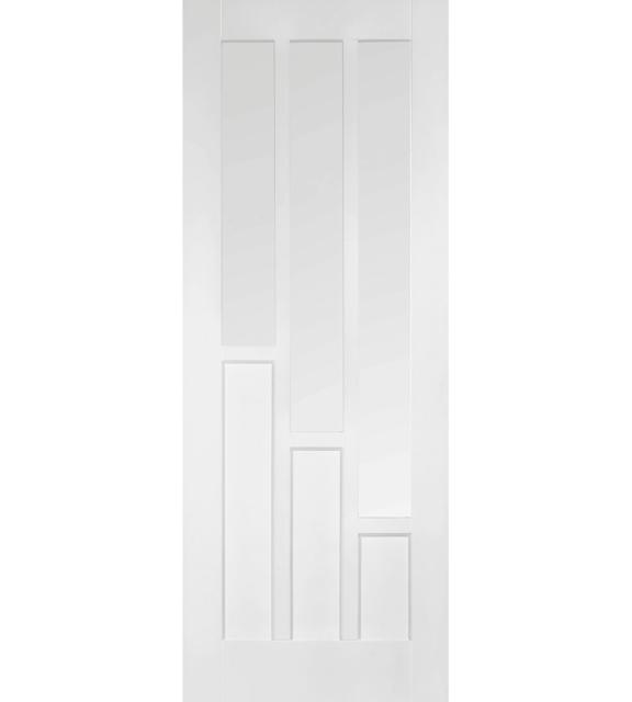LPD Coventry Glazed 3L White Interior Door