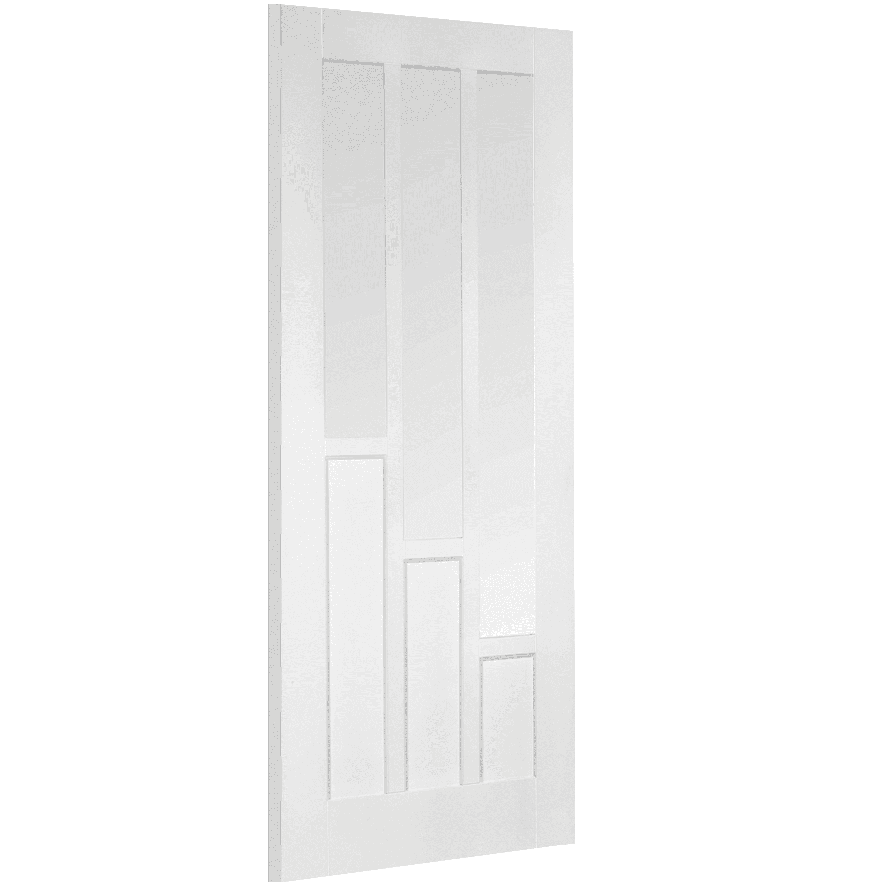 LPD Coventry Glazed 3L White Internal Door