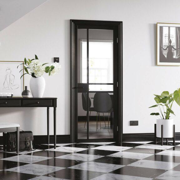 LPD Doors Black Greenwich Lifestyle