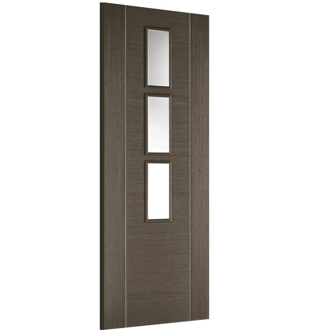 LPD Doors Chocolate Grey Alcaraz Grey 3L Interior Door