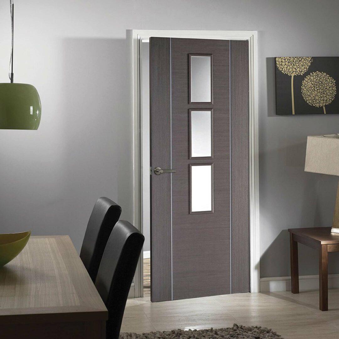 LPD Doors Chocolate Grey Alcaraz Grey 3L