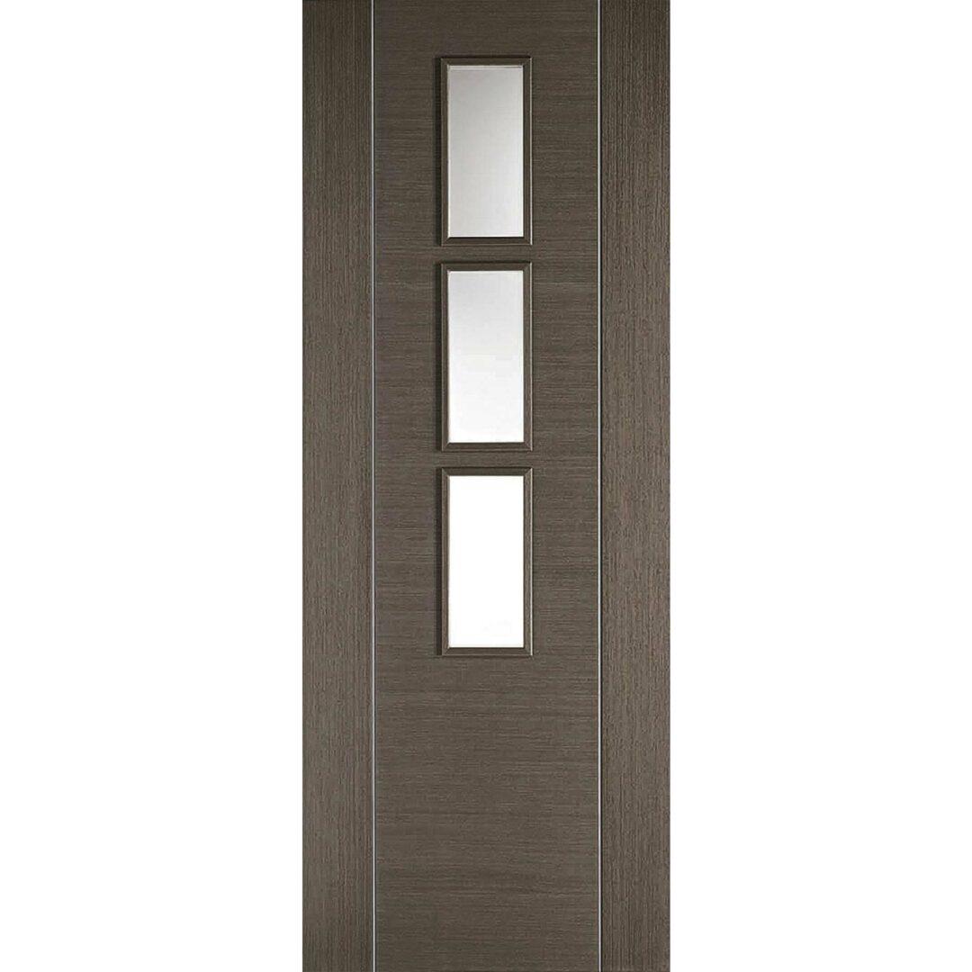 LPD Doors Chocolate Grey Alcaraz Grey 3L Internal Door