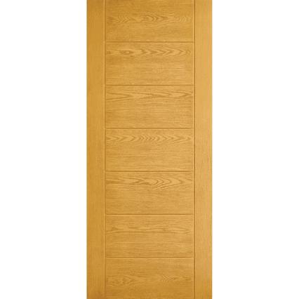 LPD Doors GRP Modica Oak External Door - 1981mm-x-838mm-x-44mm