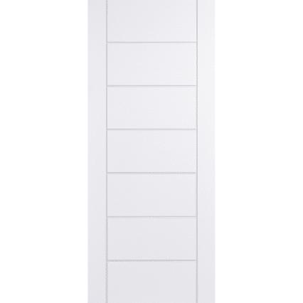 LPD Doors GRP Modica White External Door - 1981mm-x-838mm-x-44mm
