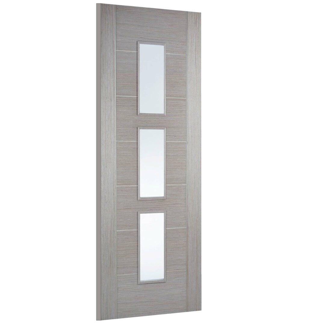 LPD Doors Light Grey Vancouver Glass