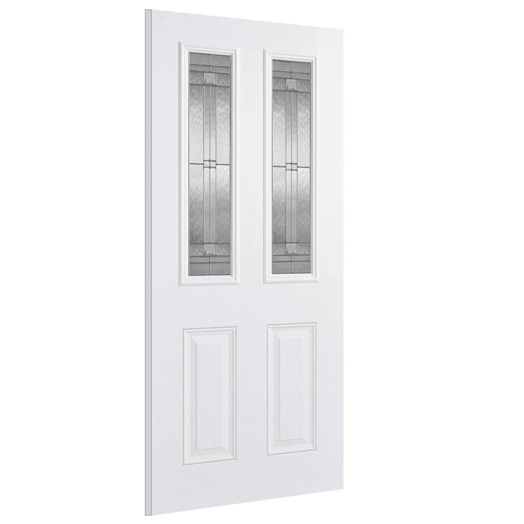 lpd doors malton white glazed 2l exterior door