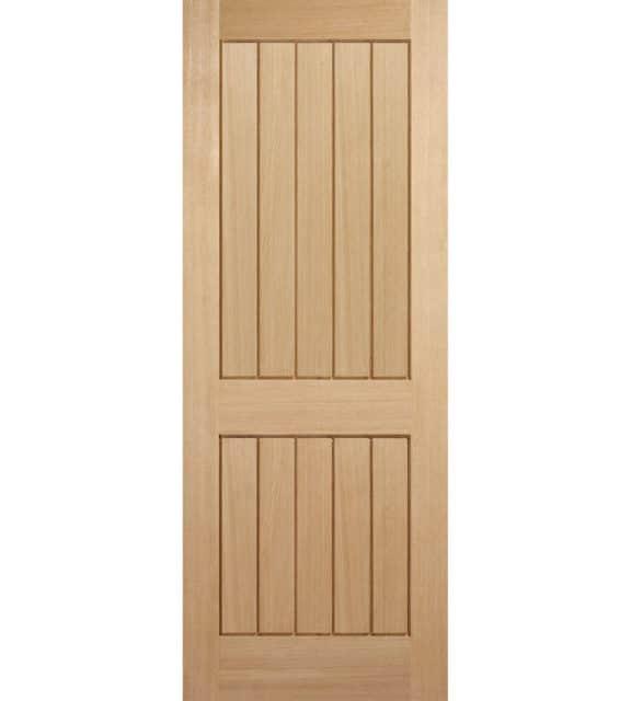 lpd doors oak mexicano 2p internal door
