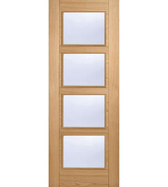 lpd doors oak vancouver glazed 4l