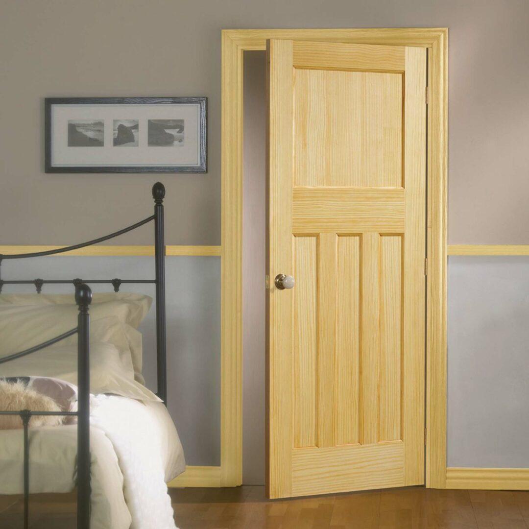 LPD Doors Radiata Pine DX 30s Style Lifestyle
