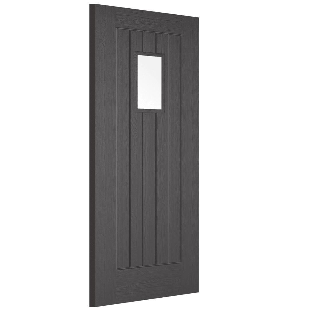lpd doors suffolk charcoal grey 1l exterior door