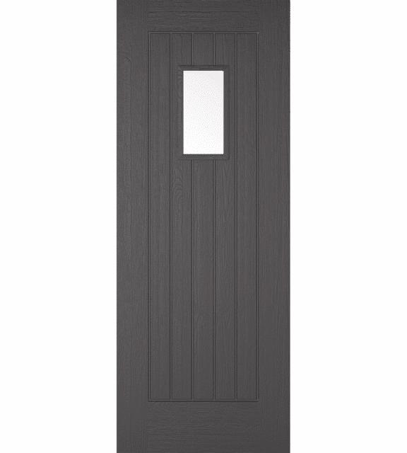 lpd doors suffolk charcoal grey 1l external door
