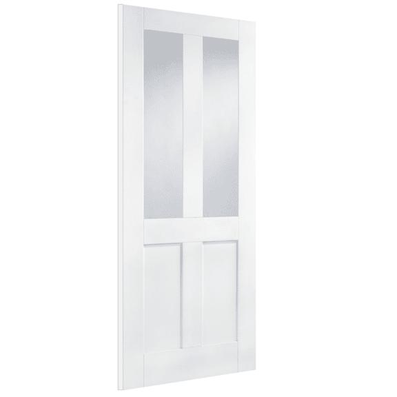 lpd doors white london glazed 2l interior door