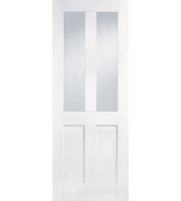 lpd doors white london glazed 2l internal door