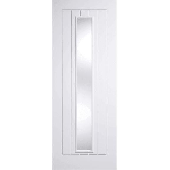 lpd doors white mexicano glazed internal door