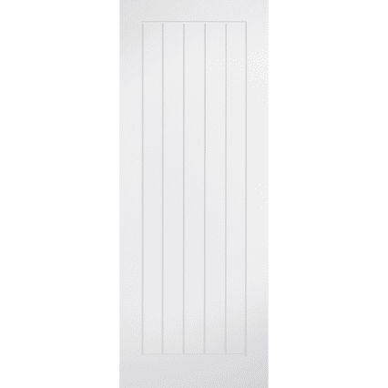 LPD Doors White Mexicano Internal Door - 1981mm-x-457mm-x-35mm