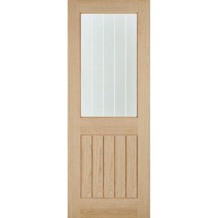 LPD Doors Oak Belize 1L Internal Door - 1981mm-x-610mm-x-35mm