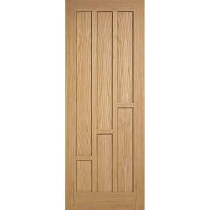 LPD Oak Coventry Internal Door - 1981mm-x-610mm-x-35mm