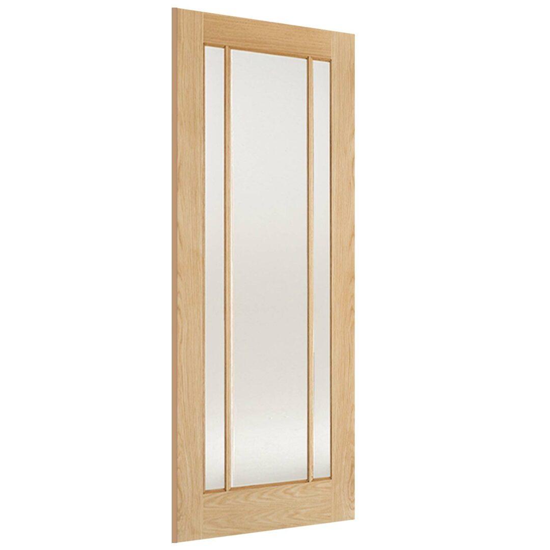LPD Oak Lincoln 3L Glazed Internal Door