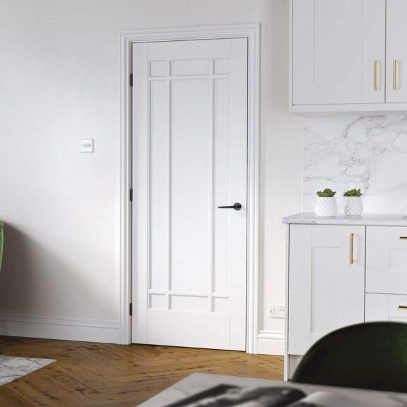 lpd white manhattan door