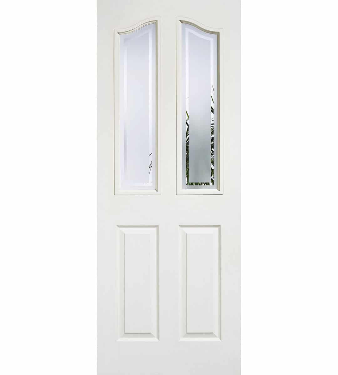 mayfair glazed interior white door