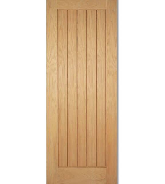 Mexicano 5 Panel Oak Internal Door