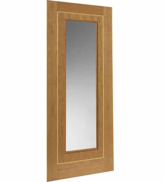 minerva glass interior door