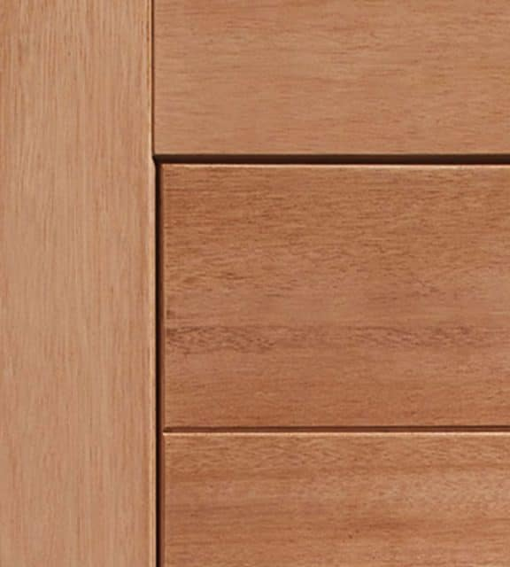 modena exterior oak door closeup
