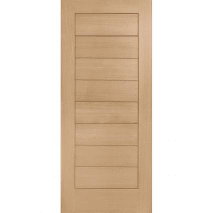 Modena Oak External Door - 2032mm-x-813mm-x-44mm-2