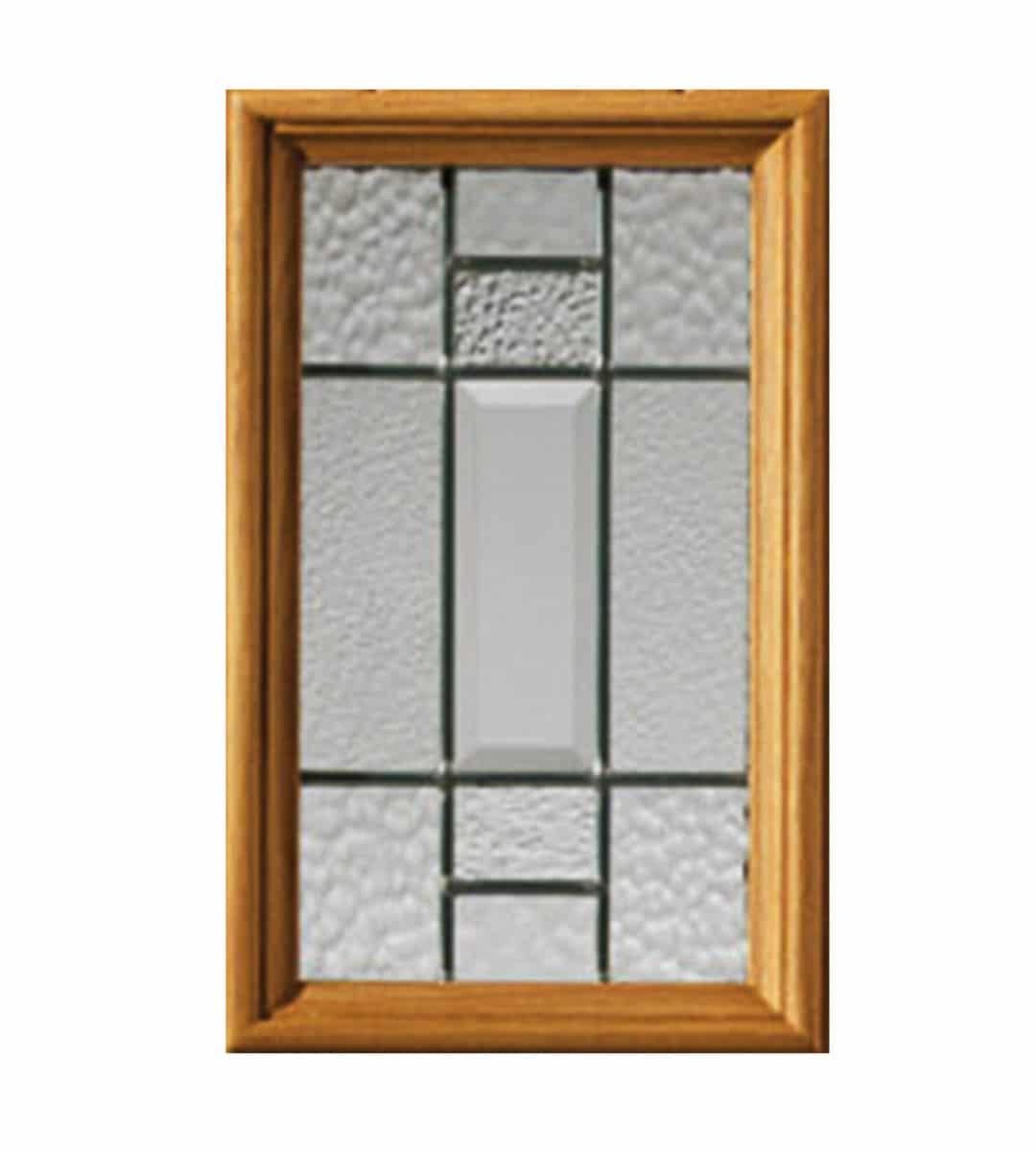 mosel external door closeup glass glazing