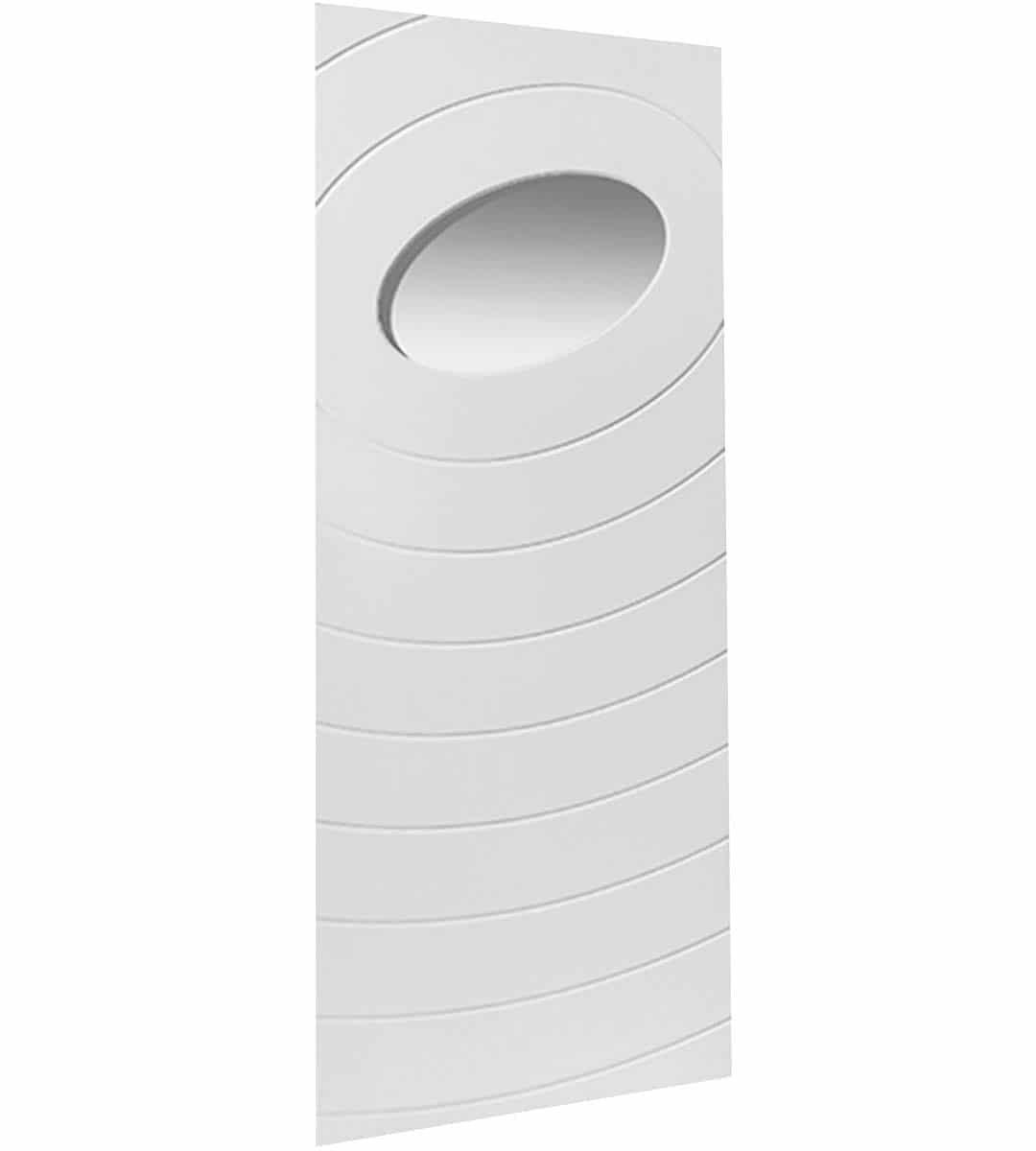 oriole white glazed internal door