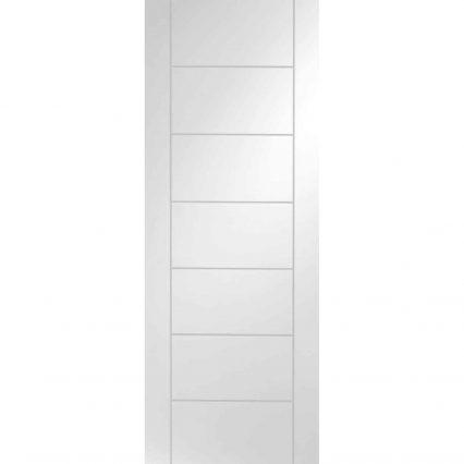 Palermo Internal White Primed Door - 1981mm-x-457mm-x-35mm
