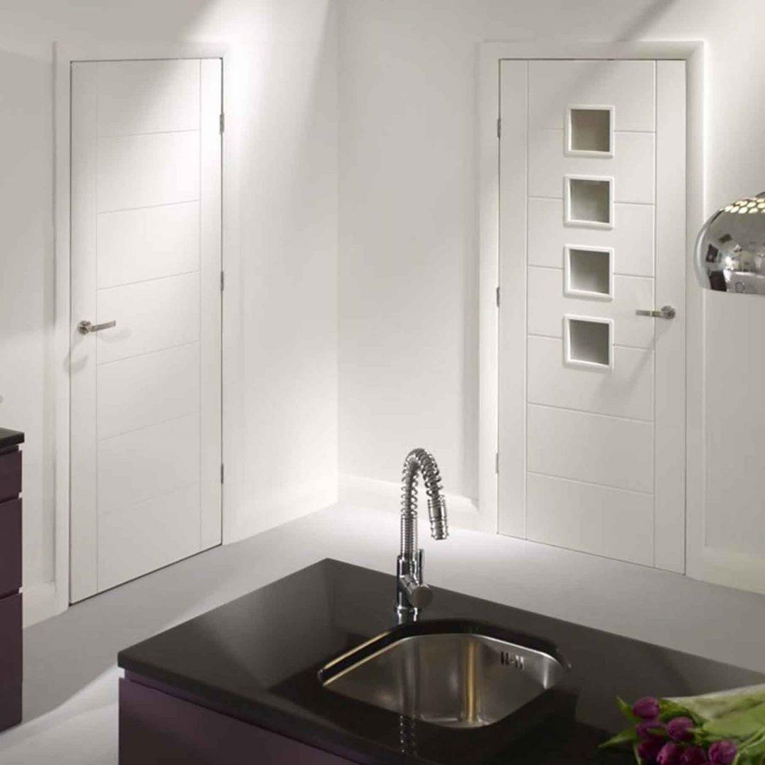 palermo internal white primed doors