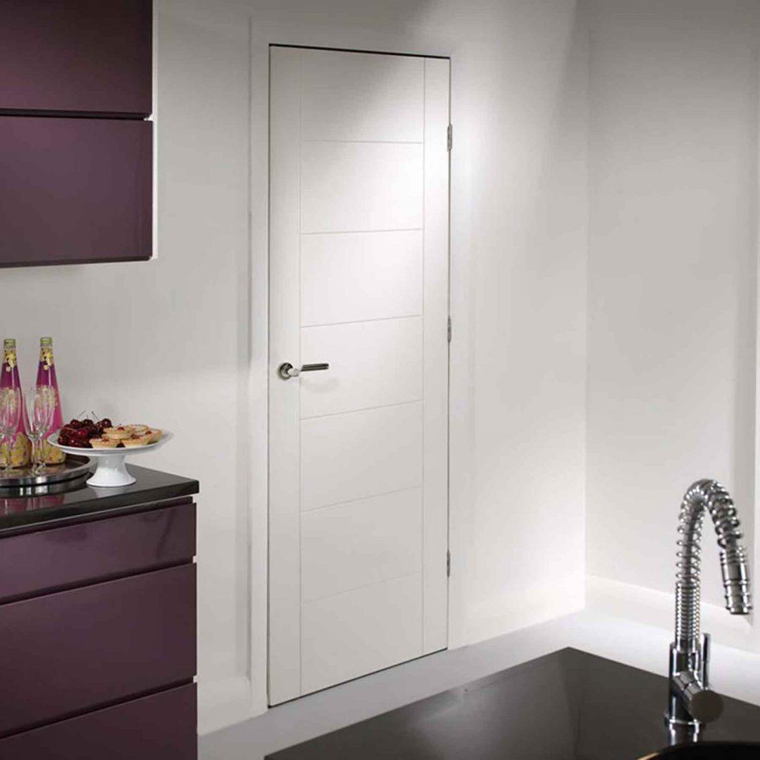 palermo internal white primed internal door