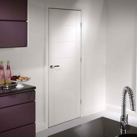 palermo internal white primed internal door