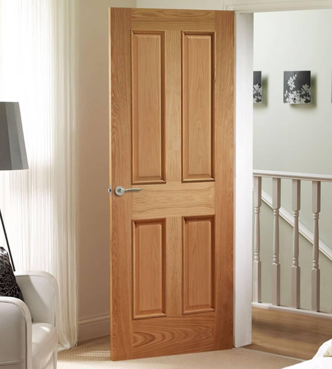 internal panelled doors interior flat panel oak door